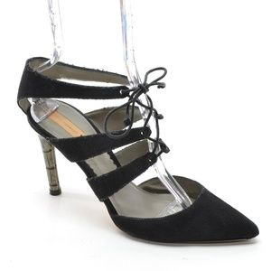 Reed Krakoff Lace Up Stiletto Heel Pumps 40